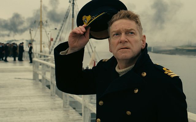 Kenneth Branagh commands the relief effort in Dunkirk.