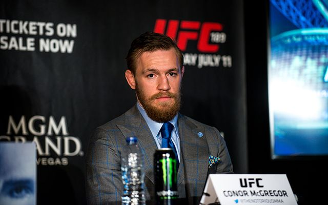 Irish UFC champion Conor McGregor.