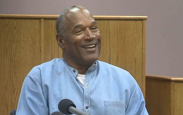 Former sportsman OJ Simpson gets parole.\n