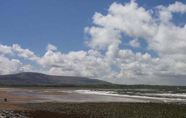 The beautiful Strandhill, in Galway.