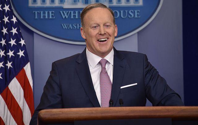 Former White House Press Secretary Sean Spicer.