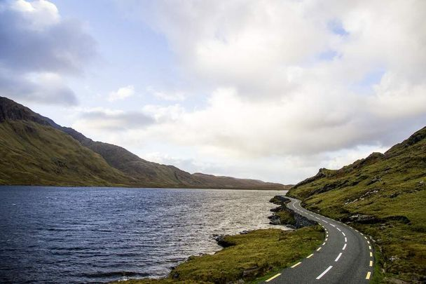"""Doolough Valley, Co Mayo: \""""May the road rise up to meet you\"""" Irish blessing"""