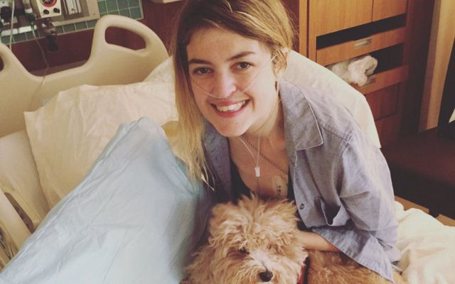 Orla Tinsley is awaiting a double lung transplant.
