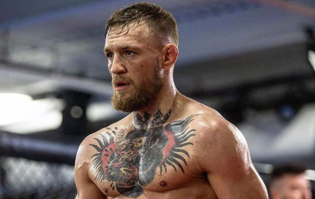 Irish fighter Conor McGregor.