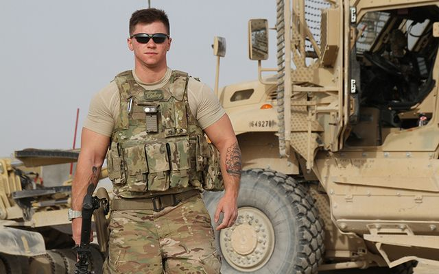 Air Force Staff Sgt. Logan Ireland