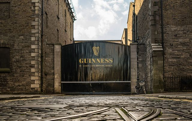 The home of helpful Guinness, St. James\'s Gate.