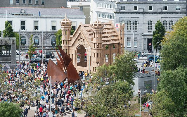 The People Build is one of the many attractions at the 2017 Galway International Arts Festival