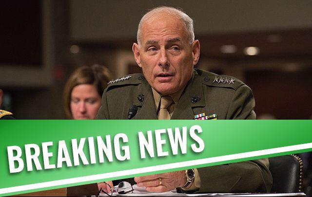 General John Kelly is Trump's new Chief of Staff.