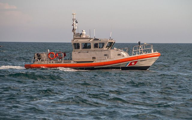 Irish child lost his life despite the presence of the Coast Guard, at Hog Island Channel, of Massachusetts.