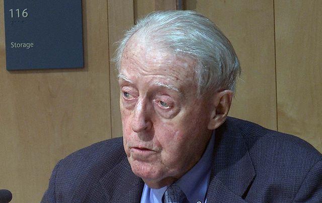 Author and Irish American Tom Fleming (RIP).