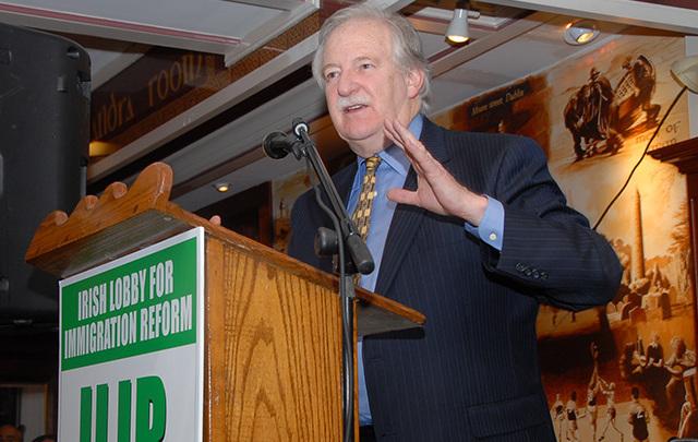 Visa legislation author and former Senator Bruce Morrison.