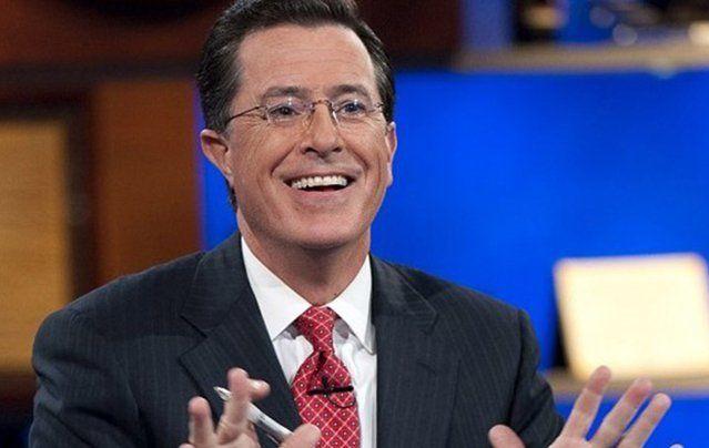 TV host Stephen Colbert.