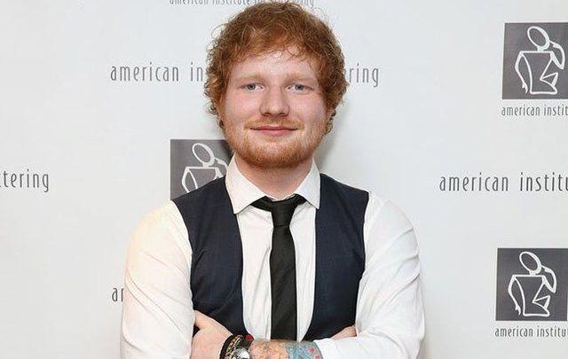 English singer song writer Ed Sheeran.
