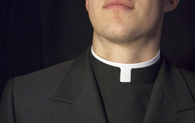 A bar in Cardiff mistook seven Catholic priests for a stag party.