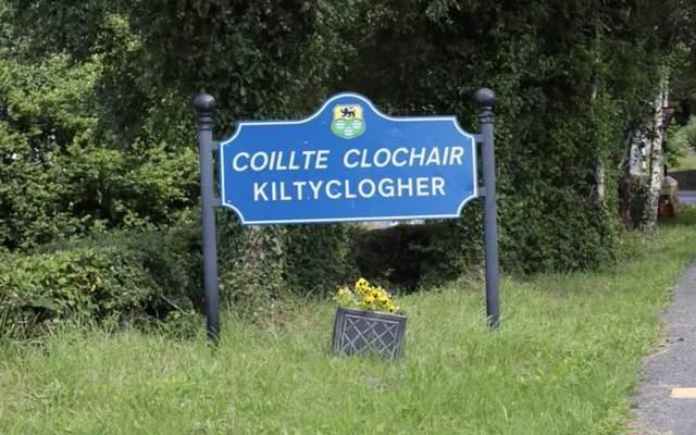 Kiltyclogher village sign.