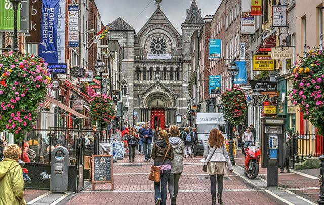 "Walking of Grafton Street, Dublin: Is Ireland a ""moral wasteland\""?"