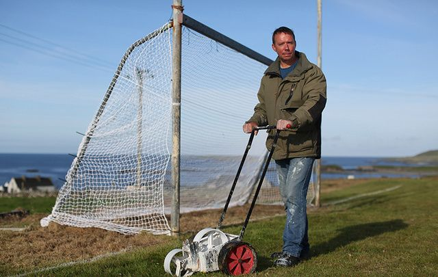 Simon Murray from Inishbofin, Co. Galway, is featured as one of the GAA's top volunteers.