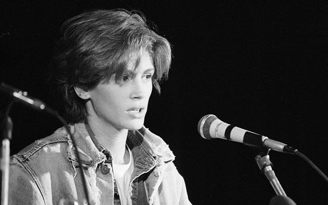 Julia Roberts in 1990, aged 21, around the time her love affair with Liam Neeson came to an end.