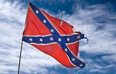 Confederate flag flew proudly at a major Irish sporting event