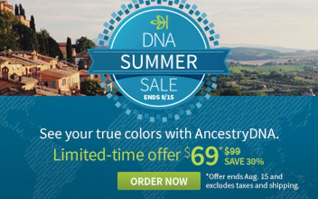 Do you want to know where in the world your DNA comes from? Take an AncestryDNA test.