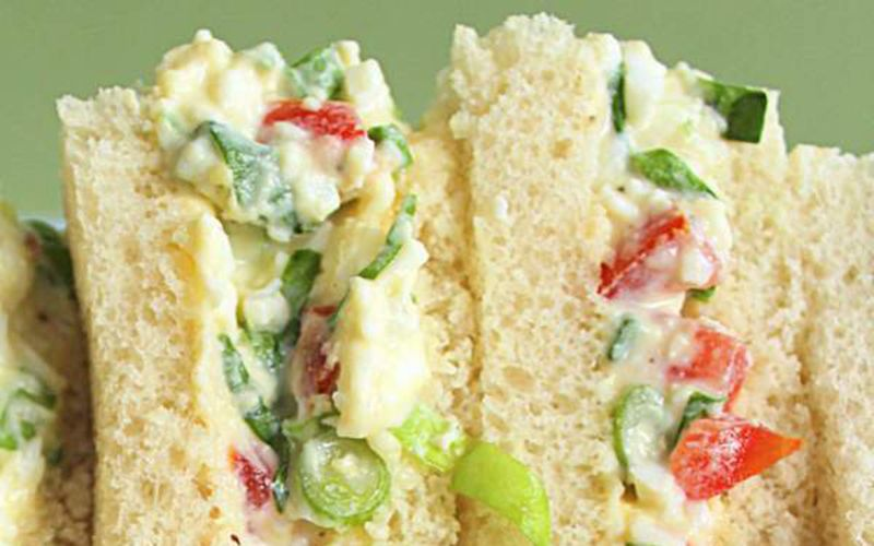 A Mammy's recipe for real Irish egg salad sandwiches