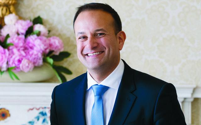 Ireland's leader, An Taoiseach Leo Varadkar.