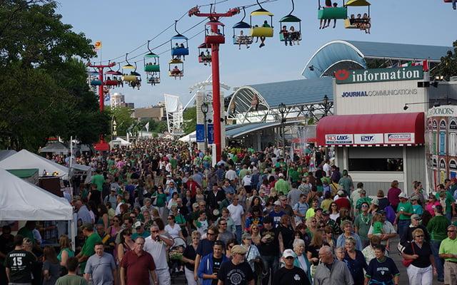 Milwaukee Irish Fest is the biggest Irish cultural festival in the United States!
