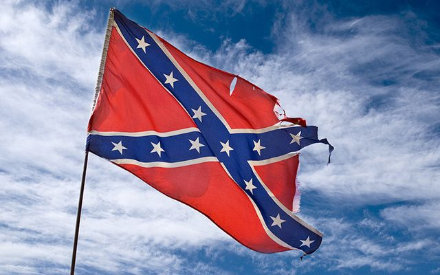 "Mick Finn said Confederate flag associated with white supremacists ""is not a political statement""."