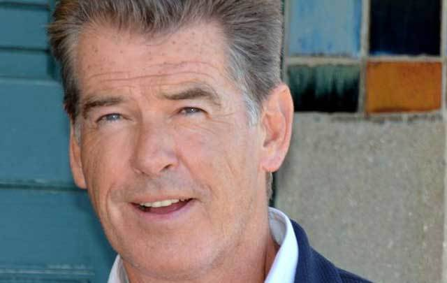 Irish actor Pierce Brosnan, who is preparing for his role in next year's 'Mamma Mia' sequel by taking singing lessong.
