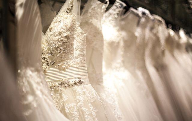 "Love it!: ""Trained Irish crochet wedding gown, ca. 1900""."