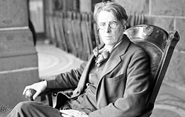 Beloved Irish poet William Butler Yeats.