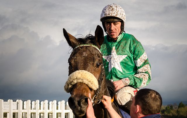Irish jockey Davy Russell.