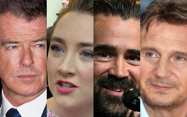 Who is America's most favorite Irish star of all?