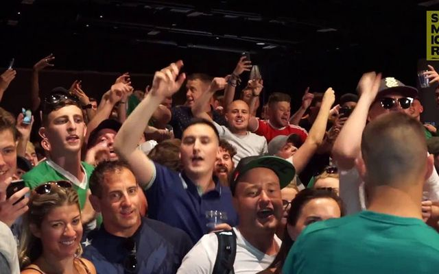 Irish fans head to Vegas to watch Conor McGregor and Floyd Mayweather fight on Saturday, Aug 26.