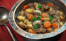 This slow cooker Irish stew recipe is perfect for cozy, chilly nights