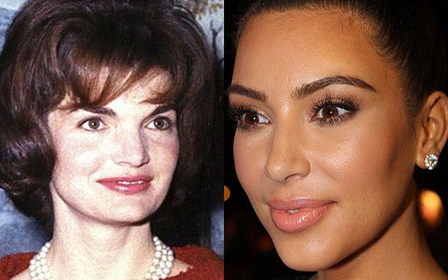 Jackie Kennedy and Kim Kardashian West