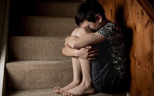 A young boy dealing with trauma