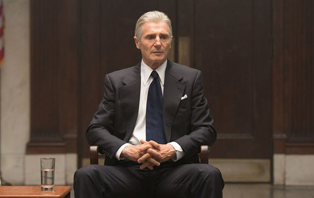 "Liam Neeson as Mark Felt in ""Mark Felt: The Man Who Brought Down The White House""."