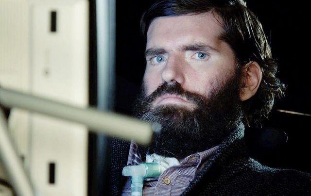 Filmmaker and ALS sufferer Simon Fitzmaurice.