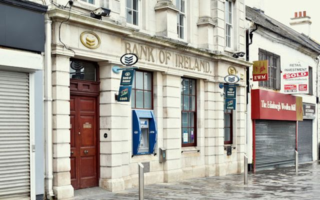 Bank of Ireland branch and ATM