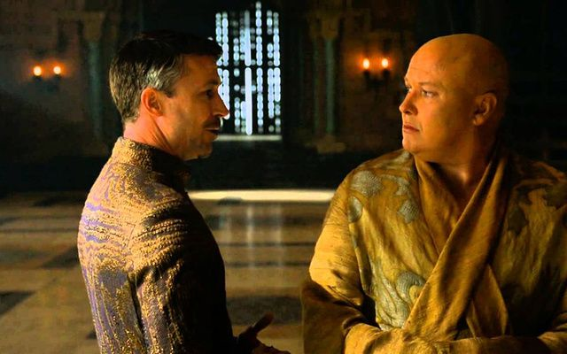 Littlefinger and Lord Varys are played by Aidan Gillen and Conleth Hill