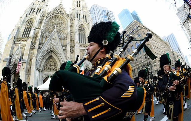 NYC St. Patrick\'s Day Parade