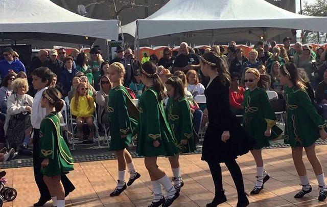 Irish dancers entertain at the Great Irish Fair!