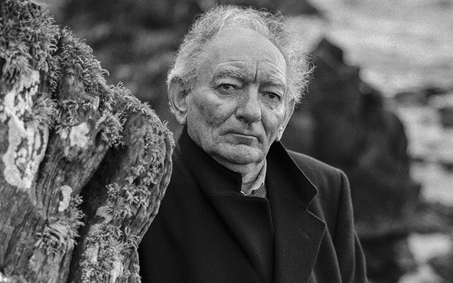 Beloved Irish playwright Brian Friel.