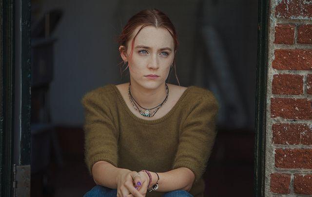 Saoirse Ronan as Christine \'Lady Bird\' McPherson in Lady Bird.