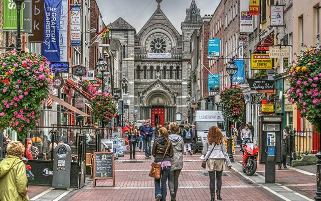 Why I love Dublin: South Anne\'s Street, off Grafton Street.