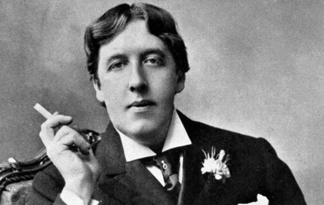 An Irish writer like no other, the beloved Oscar Wilde.