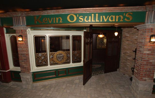 Kevin O'Sullivan's, the Irish pub contained within an Iowa mansion.
