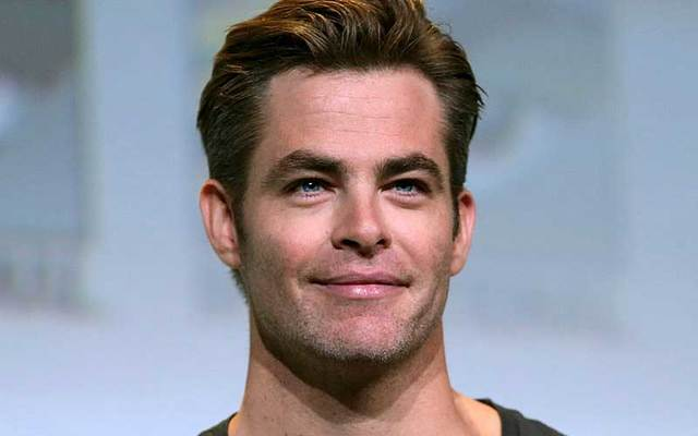 Chris Pine at the 2016 San Diego Comic Con International in San Diego, California.