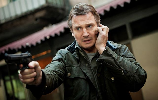 "Liam Neeson as Byran Mills, in ""Taken 2\""."